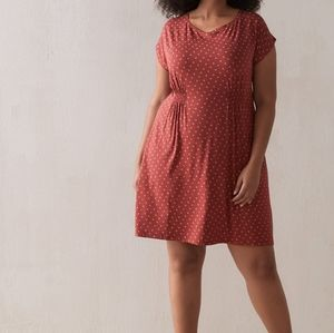 In Every Story   Swing Dress with Cinched Waist